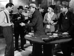 Scarface, 1932, with Paul Muni, Karen Morley, and George Raft