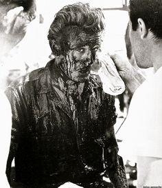 James Dean in Giant, 1956