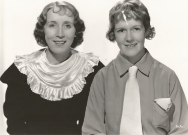 Editors Margaret Booth and Blanche Sewell