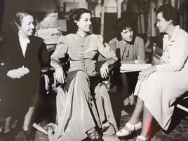 Viola Lawrence, Ros Russell, Mary C. McCall Jr., and Dorothy Arzner